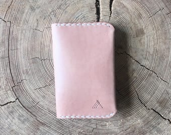 Leather Card Holder Natural Leather Wallet Personalised Leather Card Wallet Custom Leather Cardholder Leather Card Case Credit Card Holder