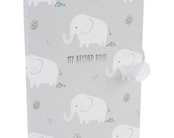 Baby Elephant Record Book