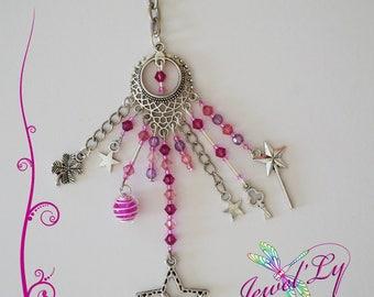 Pink fairy key