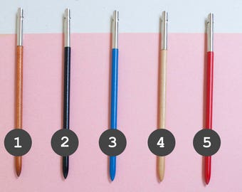 Back to school > dip pen * French vintage * Quilling* School supplies * Gift for kids