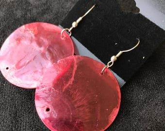 Thin Circular Earrings