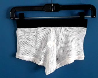 Fishnet Boxer Briefs