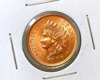 1901 Indian Head Cent - Gem BU / MS RD / Unc