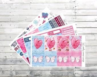 From Paris with Love planner stickers- MINI STICKER KIT- Erin Condren planner stickers