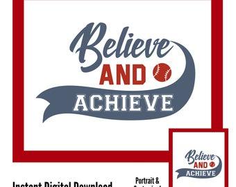 Baseball Wall Art baseball wall art | etsy