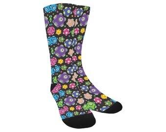 Rolling Socks - Knee High Socks Katamari Socks Katamari Cousins Socks Katamari Damacy Socks Video Game Socks Ichigo Dipp Trouser Socks