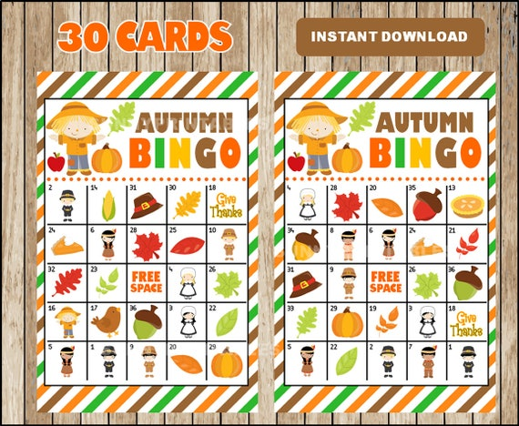 image about Fall Bingo Printable named How in the direction of Obtain the Great Printable Slide Halloween Video games On the web -