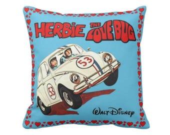 Herbie Love Bug Cushion