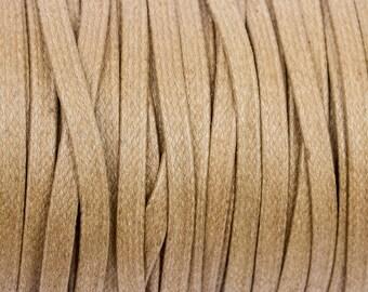 5 m flat 4mm waxed cotton Mole