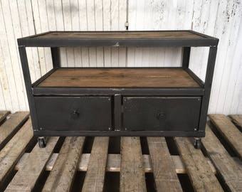 Table or industrial style furniture