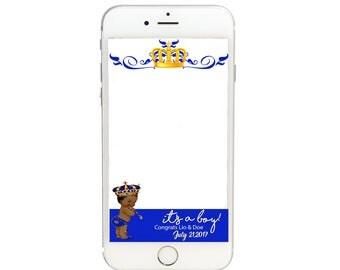 Royal Baby Snapchat GeoFilter