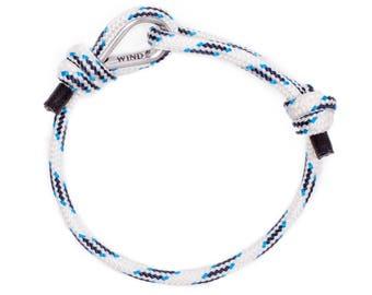 WOMEN BRACELET - paracord bracelet, cord bracelet, handmade bracelet, womens bracelet, sailing bracelet, white bracelet, rope bracelet