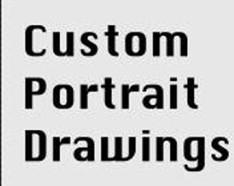 Custom Made Portrait and Picture Drawings