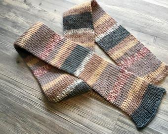 Stripey scarf