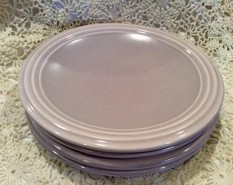 Pfaltzgraff Lavender dinner plates, set of four (4)