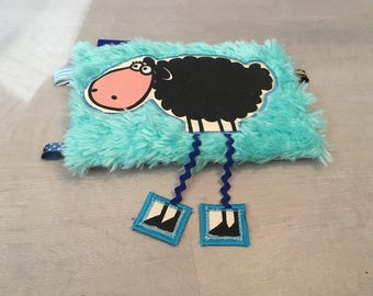 Blue sheep cuddly with long legs