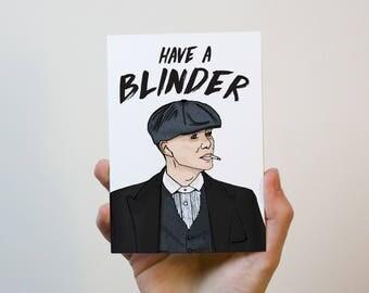 Thomas shelby | Peaky Blinders Birthday Card | Peaky Blinders Mothers Day Card