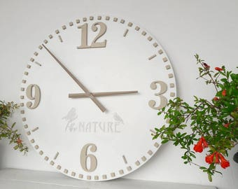 20 inch white wall clock wall decor large wall clock big clocks for the
