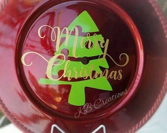 Christmas Display Plates