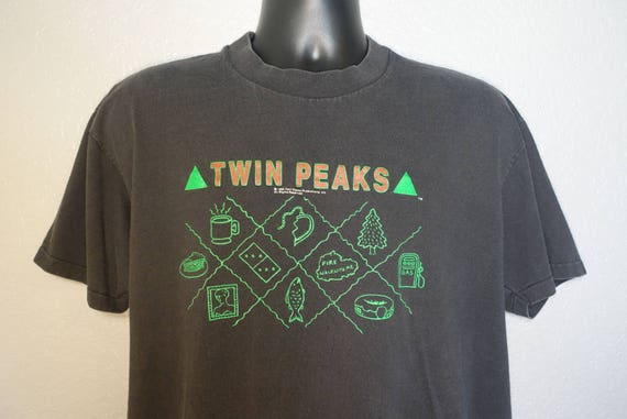 1990 RARE Twin Peaks Promotional - Fire Walk With Me - Vintage T-Shirt
