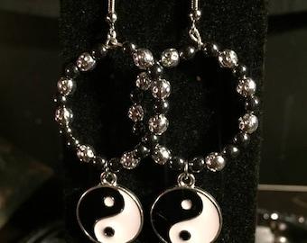 Yin Yang Talisman earrings