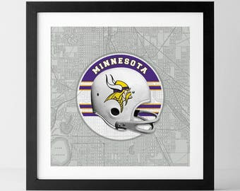Vintage NFL: Minnesota Vikings-inspired