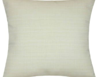 Sunbrella Dupione Pearl Indoor/Outdoor Pillow
