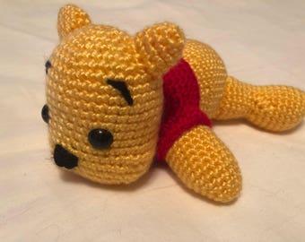 Winnie the Pooh crochet plush