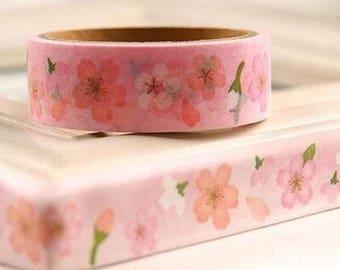 Washi Tape, Masking Tape, masking tape scrapbooking flowers ROSE II