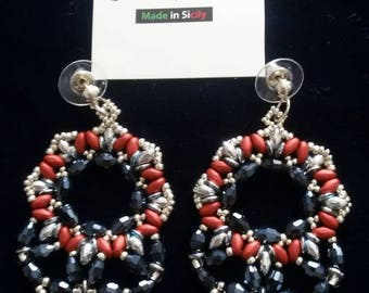 Hand made glass pendants