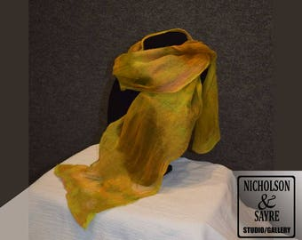 Yellow Nuno Scarf