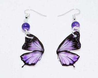 Antiallergic resin butterfly wings