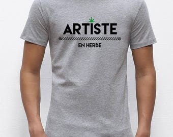 Budding artist men T shirt