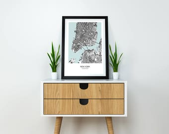 City Map-Poster New York City Map