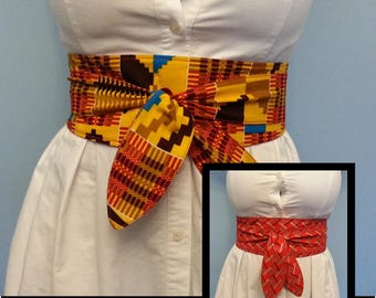 Reversible Obi Belt
