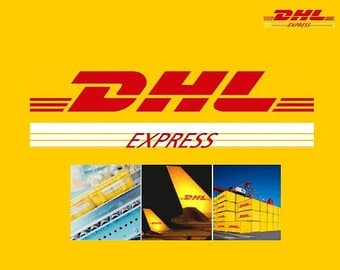 3-5 business days Express shipping with DHL, Express delivery, International Express shipping
