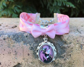 Bracelet liberty fancy cabochon