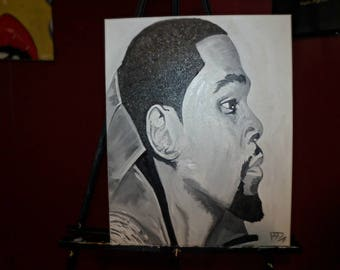 Kevin Durant Oil Painting
