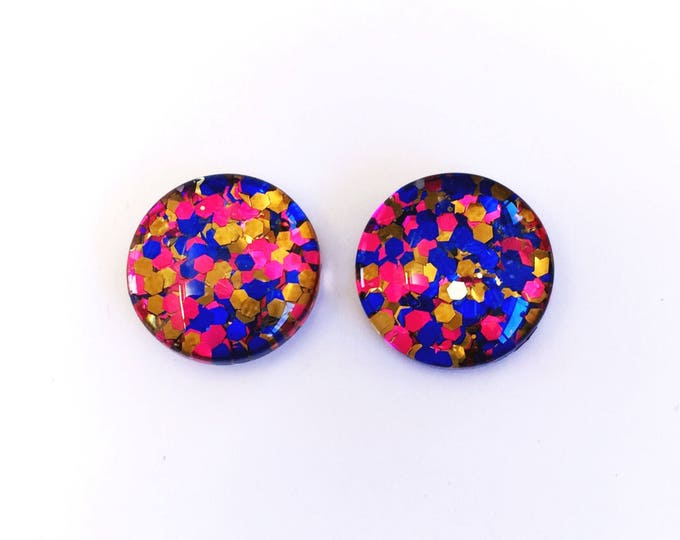 The 'Gypsy' Glass Earring Studs