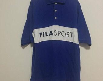 Vintage 90s Fila Sport Polo Shirt