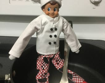 Mischief in the kitchen outfit fits elf on the shelf