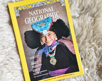 Vintage National Geographic Magazine // March 1978