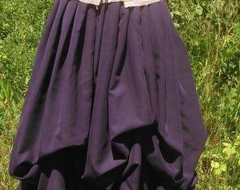 ffante style elfique, romantique, médiévale faites en deux couleurs complémentaire.Fabriquer à la main par Cape Diem