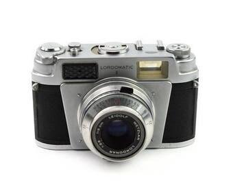 Limited time offer Leidolf Lordomatic II Camera with Wetzlar Lordonar 5cm f/2.8 Lens c.1958