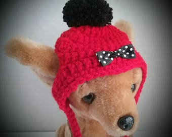 Small Dog hat, Chihuahua hat, Cat hat, Yorkie hat  + Free Shipping