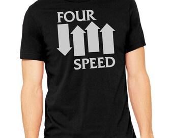 Four Speed motorcycle shirt, motorcycle shirt, vintage motorcycle, biker shirt, motorcycle gifts, funny motorcycle shirt, punk
