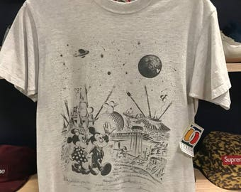 Mickey & Minnie Mouse galaxy t-shirt