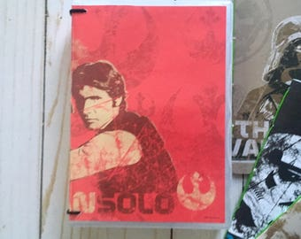 Hans Solo Packed Notebook Nook Special