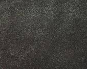 Coupon de cuir de veau noir pailleté (17092501)