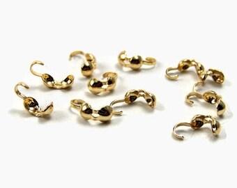 Set of 20 golden crab nodes
